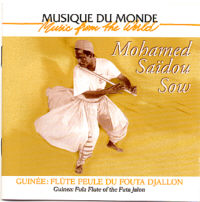 Mohamed Saidou Sow, flûte Peule
