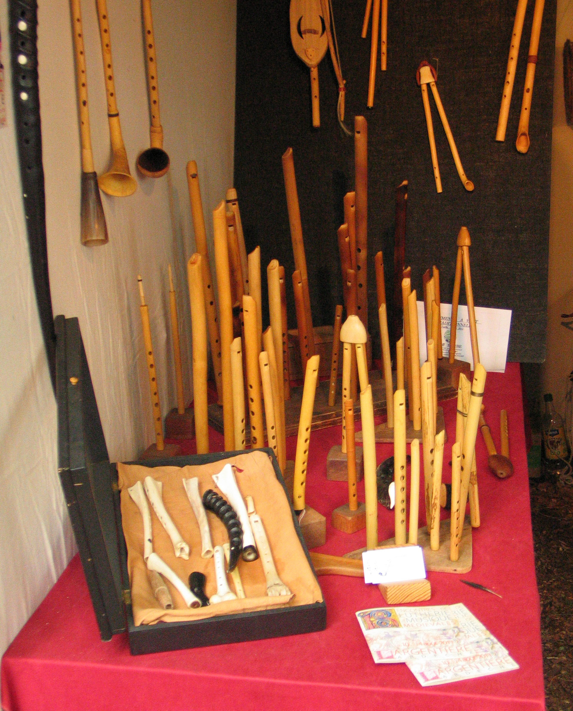 Rencontres luthiers chateau d'ars